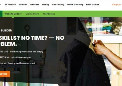 GoDaddy Website Builders Review